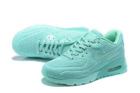 check out 1245b 9ed97 Nike Air Max 90 Ultra BR Breeze Hyper Jade Mens Women Running Trainers  725222-301