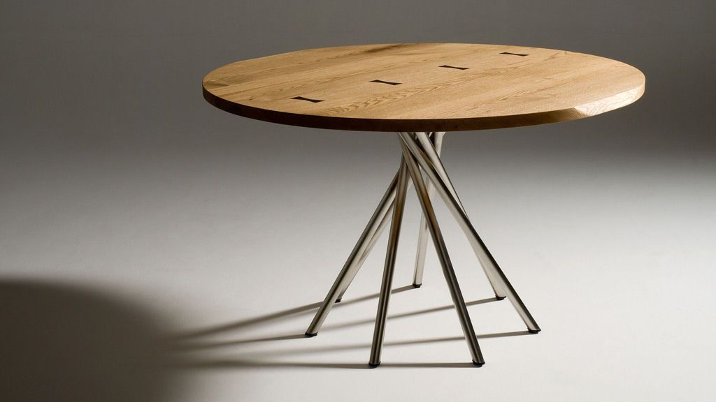 Delicieux Contemporary Table / In Wood / Round TOSAI By Peter Maly Conde House Europe