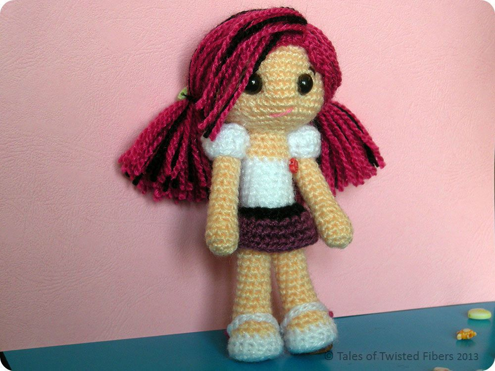 Crochet Amigurumi Doll Free : Amy the amigurumi doll free pattern amigurumi doll amigurumi