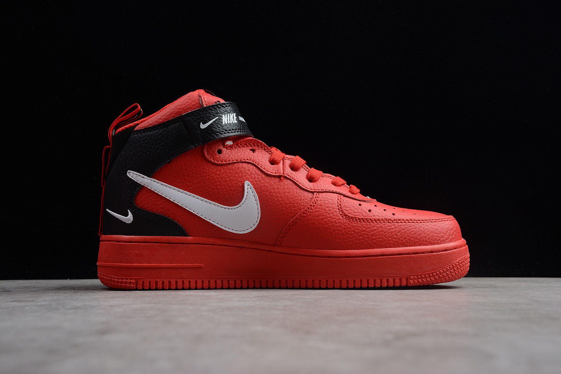Nike Air Force 1 Mid '07 LV8 University Red/WhiteBlack