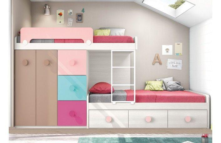 Dormitorios juveniles espacios reducidos dormitorios juveniles espacios reducidos with - Alfombras baratas malaga ...
