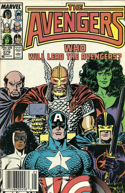 Cover for The Avengers (Marvel, 1963 series) #279 [Direct Edition]