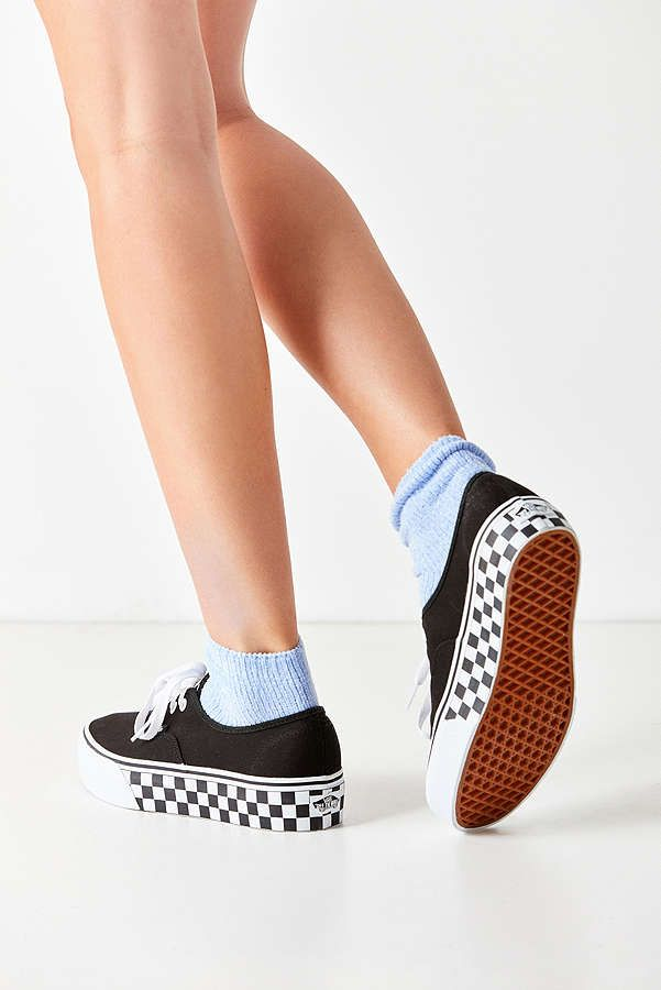 vans authentic platform sneaker