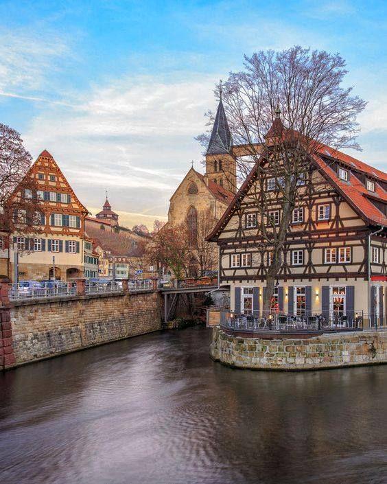 Esslingen am Neckar Germany travel, Baden germany, Visit