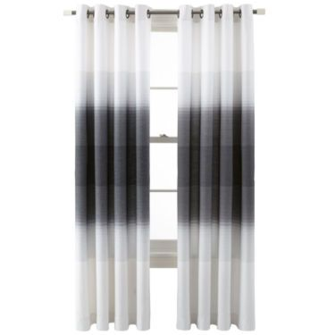 jcp home™ Ripple Grommet-Top Curtain Panel - JCPenney
