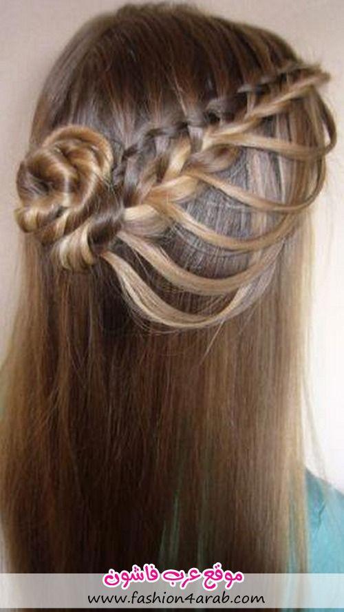 شعر طويل تسريحات شعر قصير تسريحات شعر تسريحات بنات تسريحات 2013 Hair Styles Long Hair Styles Braided Hairstyles