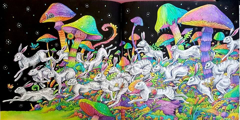 Psychedelic coloring...try