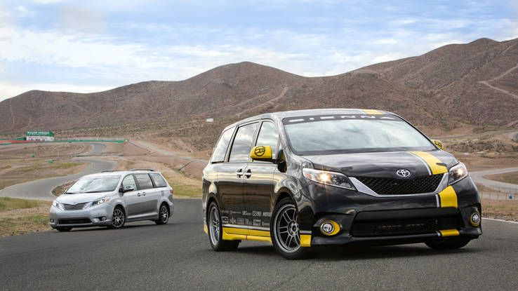 These 2 Minivans Hunt Muscle Cars We Drive Them Both Toyota