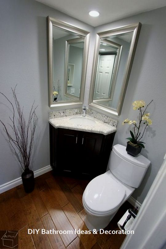 33 Trendy Basement Bathroom Ideas: 15 Creative Storage DIY Ideas For Modern Bathrooms: 1