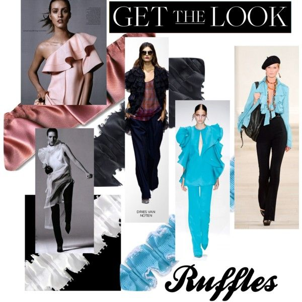 Get the look: Ruffles