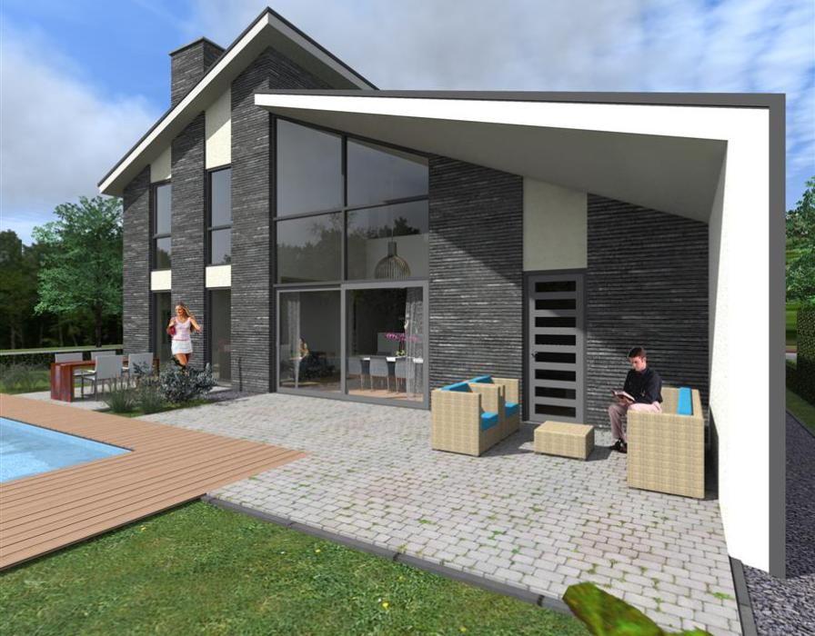 Eigentijdse woning home huizen architectuur en