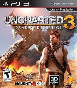 Dit is de game Uncharted 3 Drake`s Deception dit is het vervolg op de game Uncharted 2 Among Thieves je kunt het alleen spelen op de Playstation 3