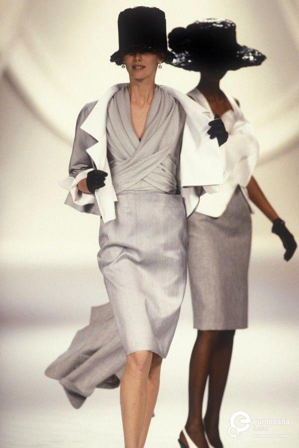 1990 Christian Dior Spring Summer Couture 1990s Fashion Trends Fashion Dior Fashion