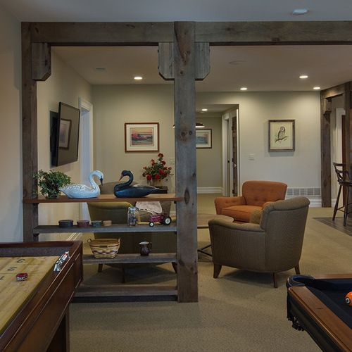 Remodeling Ideas: Basement Support Beams Basement Design Ideas, Pictures