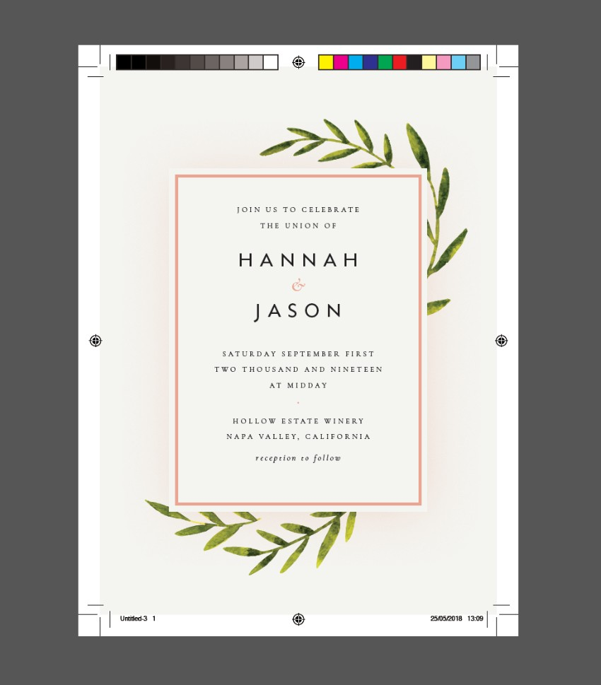 How to Create a Wedding Invitation in InDesign (Free Template