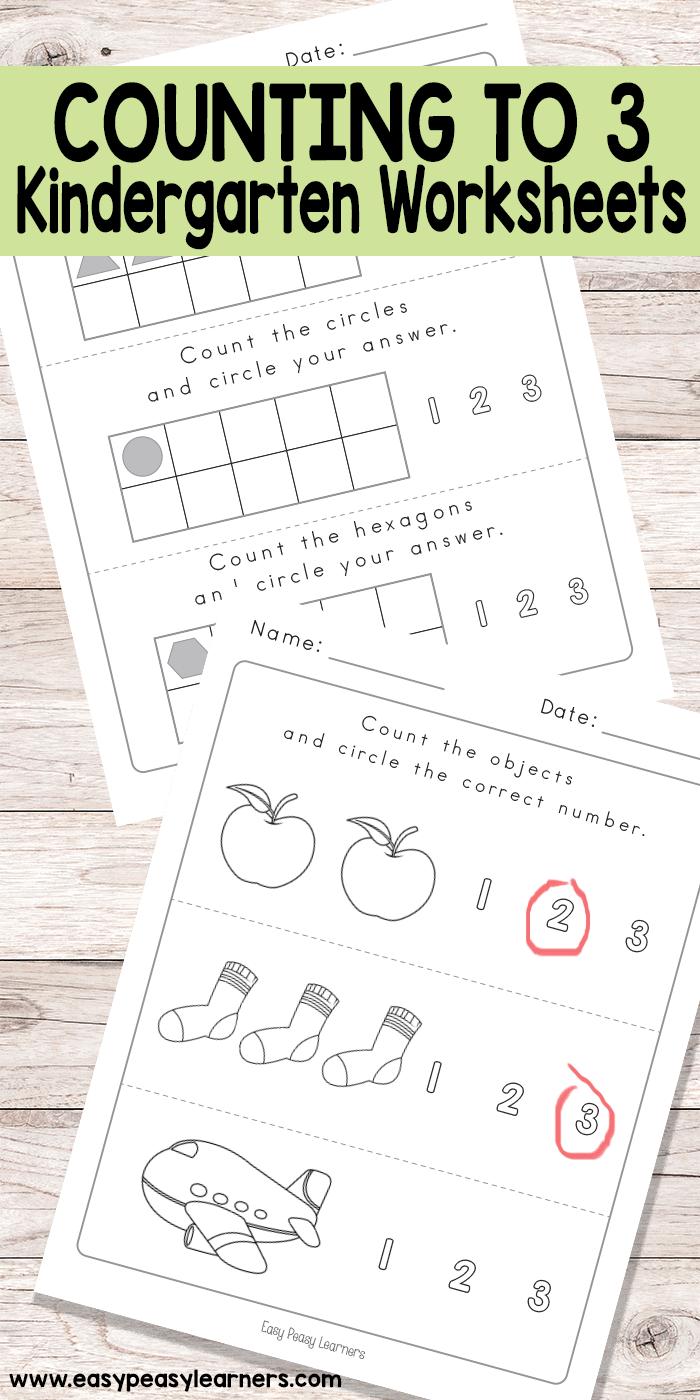 Kindergarten Counting To 3 Worksheets Kindergarten Worksheets Counting Kindergarten Kindergarten Spring Math Worksheets [ 1400 x 700 Pixel ]