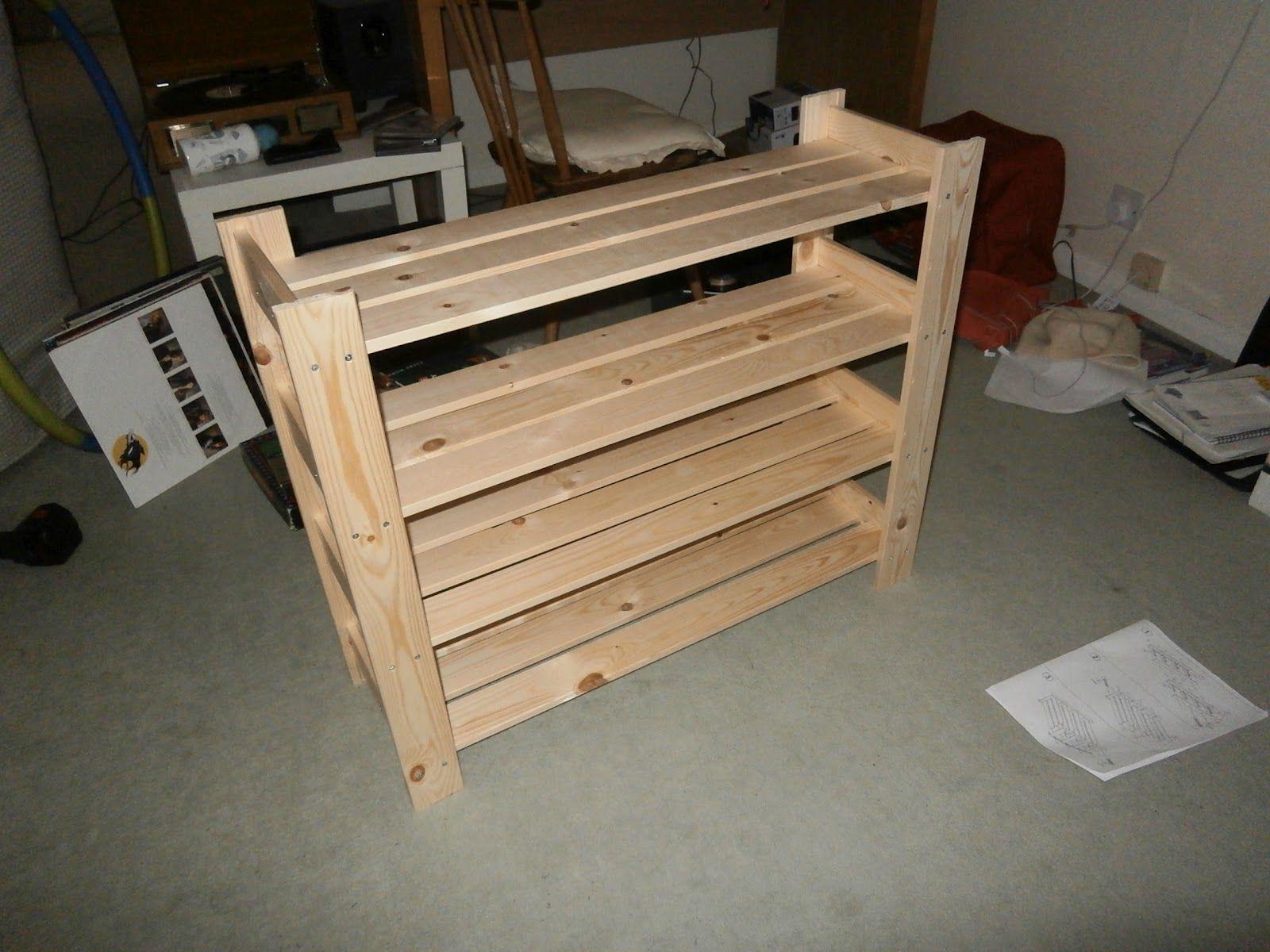 wood shoe cabinet plans diy shoe rack wooden shoe racks on wood shoe rack diy simple id=45643