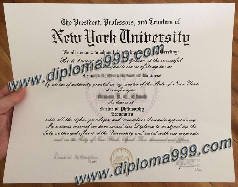 QQ/WeChat:648998850, fake New York University degree, fake New York ...