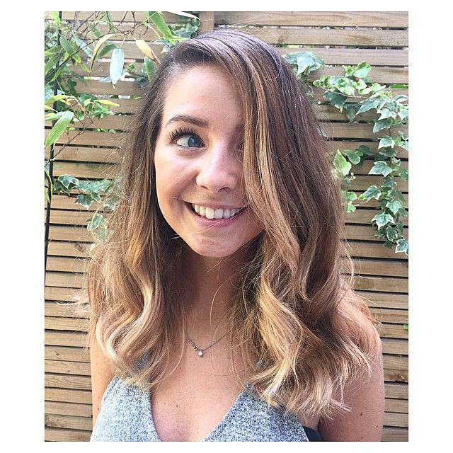 Zoella, hair colour done by TaylorTaylor. Ecaille, balayage