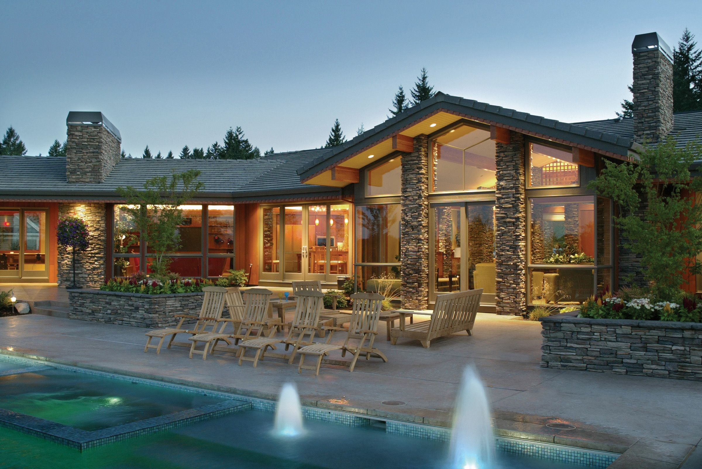 Pacific Northwest Home Designs | both homes were designed by amda ...