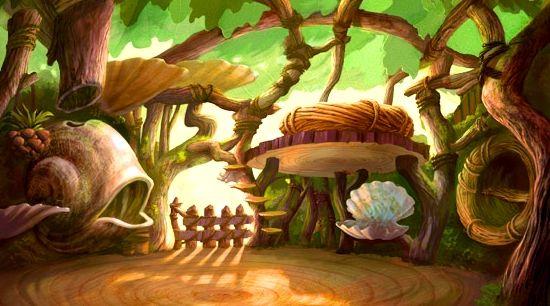 Tinker Bell's House- Inside