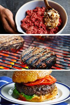 Simple tip for a juicier burger…just mix Hellmann's Mayonnaise INTO ground beef with favorite spices before grilling.