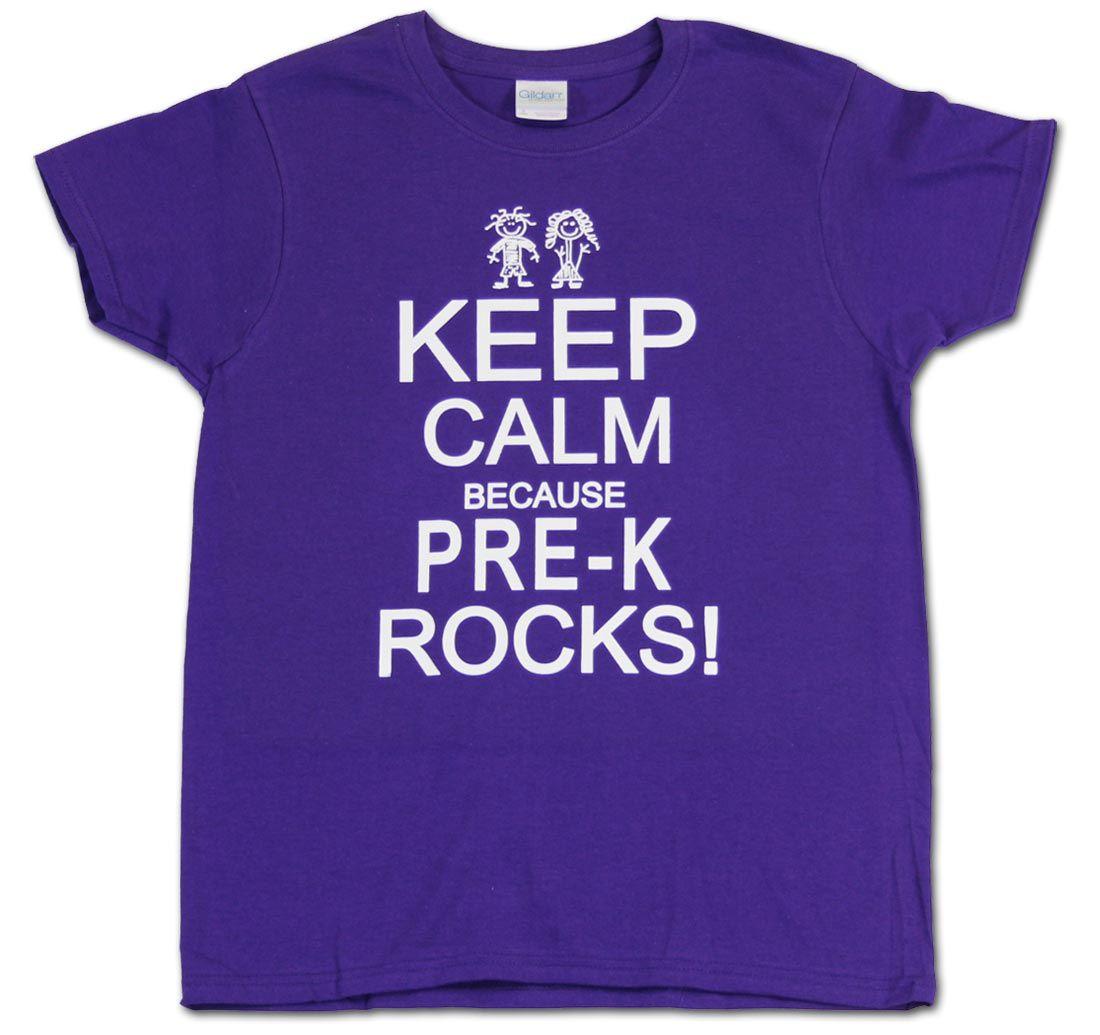 Pre K Quotes Keep Calm Because Prek Rocks Prek Prek Teacher Teachers