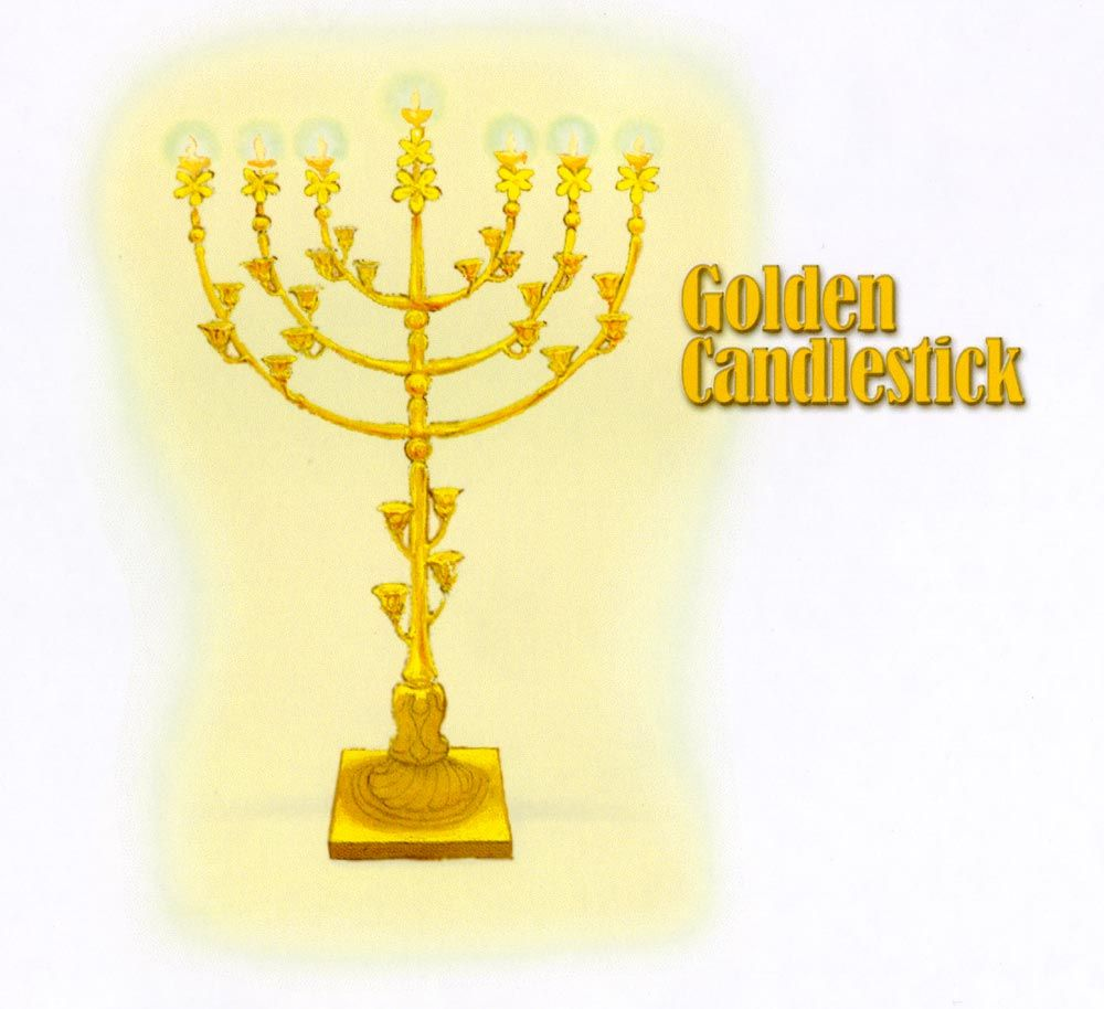The Golden Lampstand: The true symbol of Messiah in the Scriptures ... for Seven Golden Lampstands  26bof