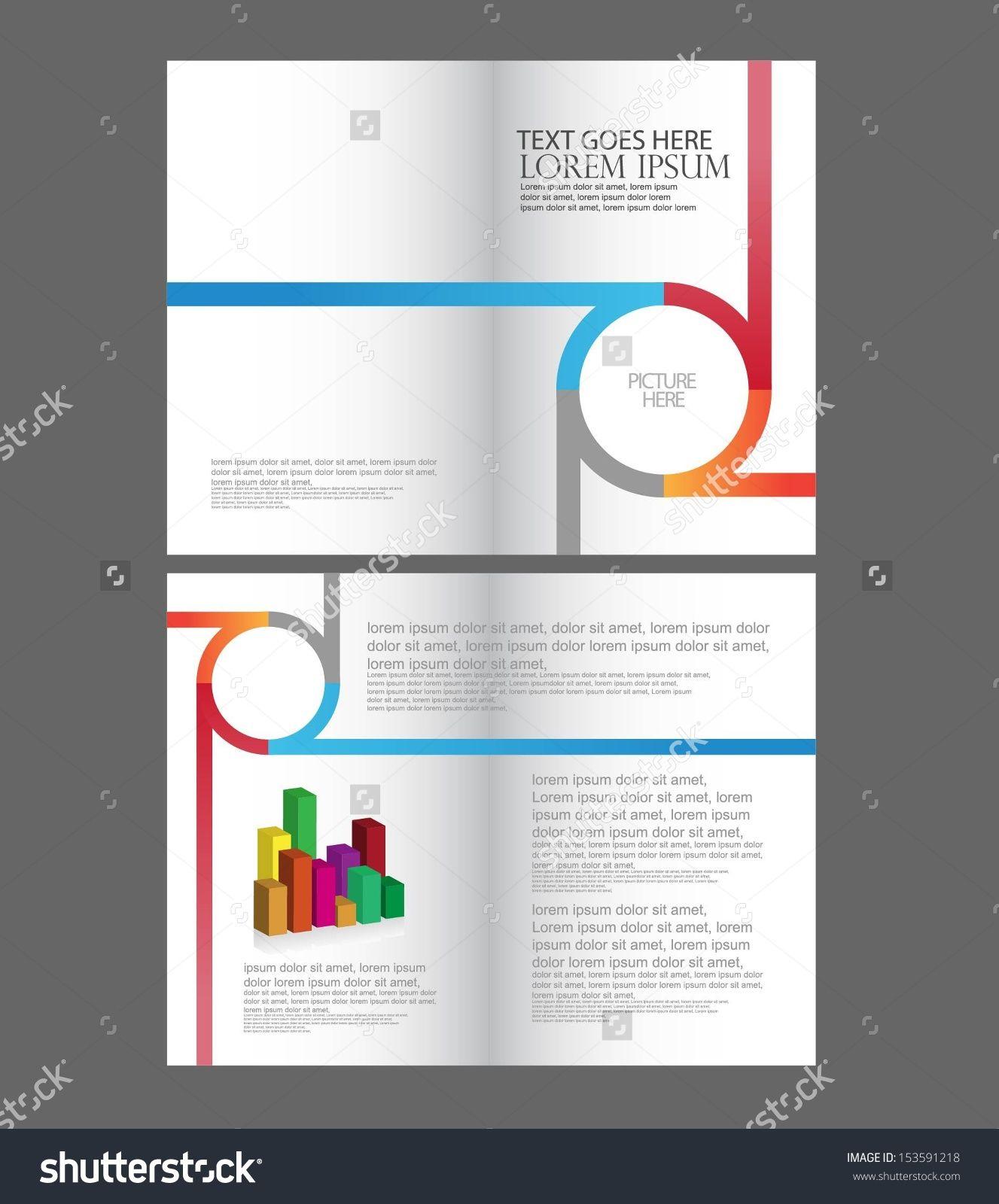 brochure design ideas de formato pinterest brochures