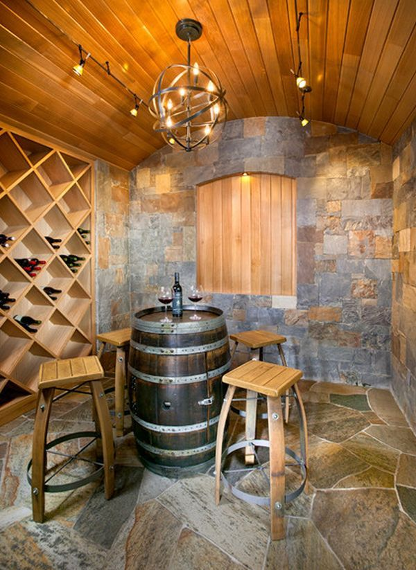 19 Interesting Ways Of Using Wine Barrels In Home Décor | Organic ...