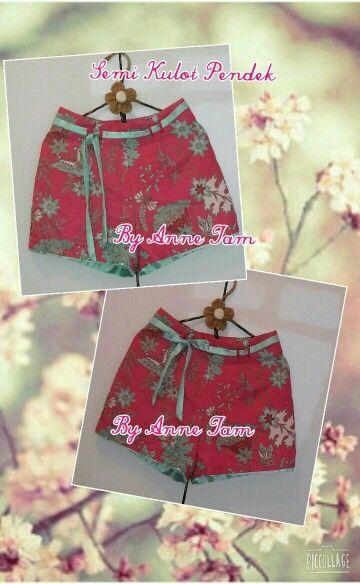Batik - Short Pants, Design by Anne Tam
