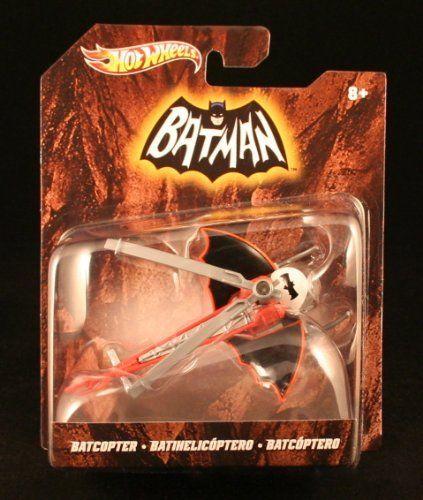 1966 BATMAN TV SERIES BATCOPTER Hot Wheels 1:50 Scale 2012 Batman Series Vehicle