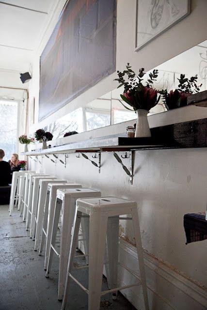Melbourne Cafes Photo Blog Kitchen Bar Bar Seating Breakfast Bar