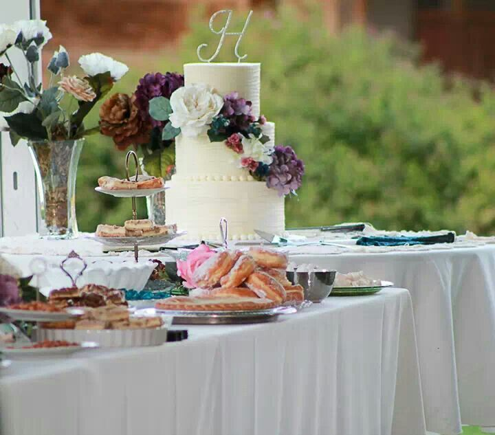 Wedding My Dessert Buffet And Cake Evening Summer Ceremony Allowed For A Coffee Sweets