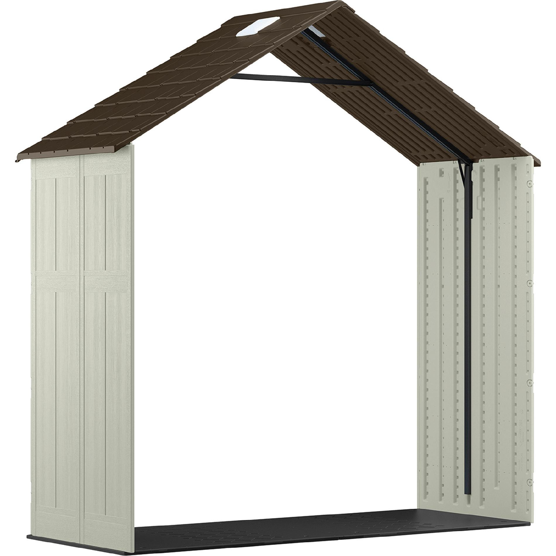 299 99 Sears Craftsman 3 Ft Shed Extension Kit For 65007 8x7 Lawn Garden Sheds Outdoor Storage Sheds S Shed Plans Shed Homes Craftsman Sheds