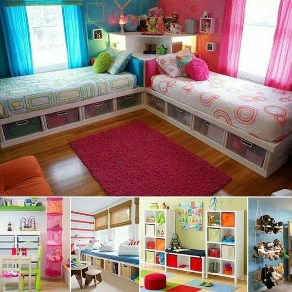 Kinderzimmer Gestaltung - grelle Farbtöne clever einsetzen Kids