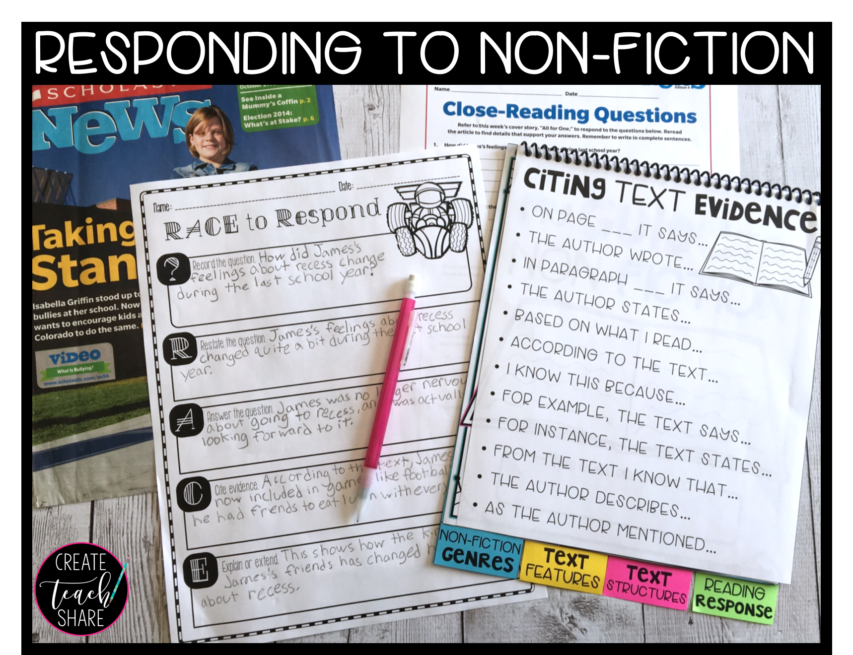 Ideas For Exploring Non Fiction In The Elementary