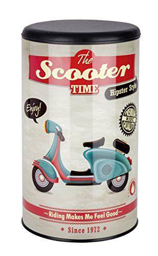 Wenko – Taburete Pongo Todo Vintage Scooter 21590 - http://vivahogar.net/oferta/wenko-taburete-pongo-todo-vintage-scooter-21590/ -