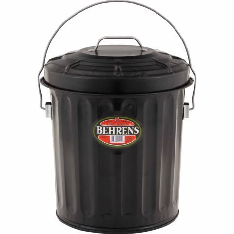 Behrens Black Ash Can 7 1 2 Gal