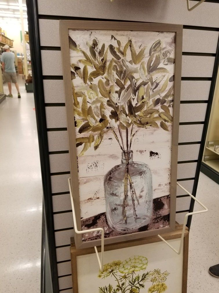 Pin By Haley B Designs On New Floral Art Farmhouse Art Art