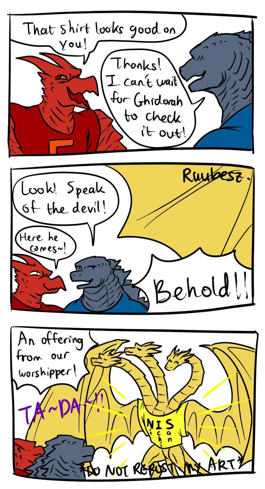 Ruubesz Draws Tumblr Godzilla Funny Godzilla Comics Godzilla