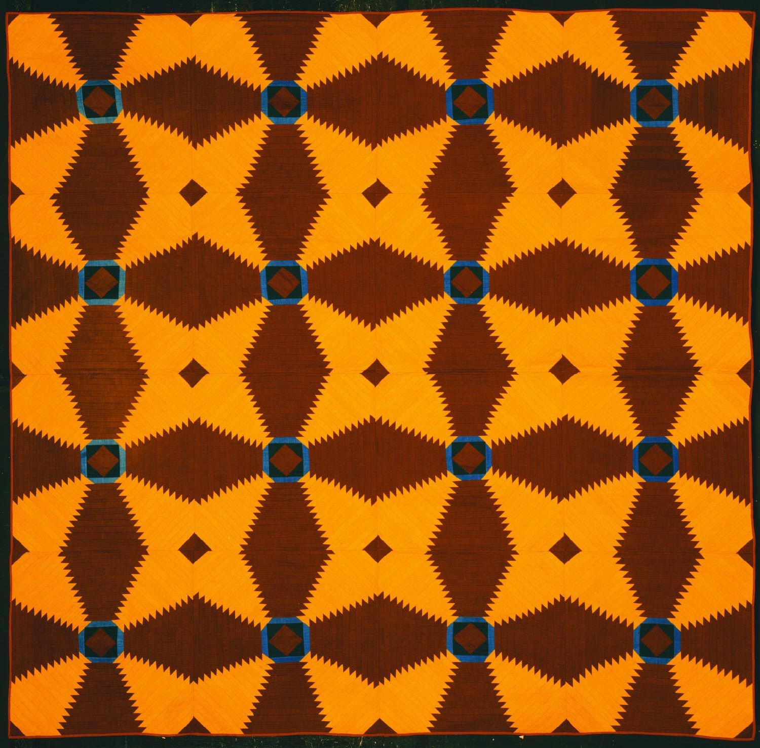 Philadelphia Museum of Art - Collections Object : Quilt (Maltese Cross Pattern)