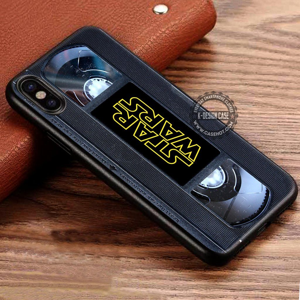 buy popular be289 24a22 VHS Cassette Vintage Star Wars iPhone X 8 7 Plus 6s Cases Samsung ...