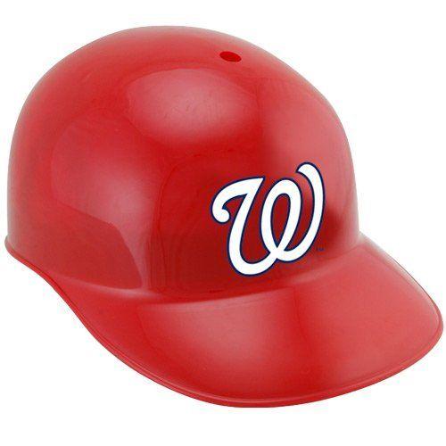 Mlb Washington Nationals Replica Batting Helmet By Licensed Products 8 13 Full Size Replica Batting Hel Baseball Helmet Batting Helmet Philadelphia Phillies