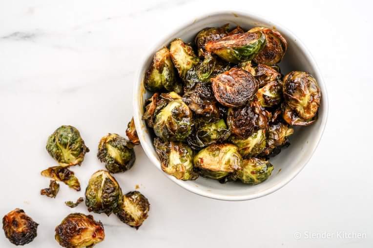 Crispy Asian Brussel Sprouts Recipe Asian Brussel