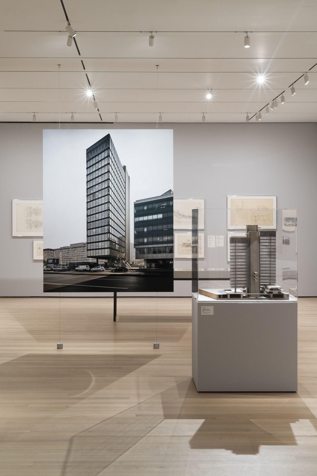 "69056d4ffad68 Installation view of the exhibition, ""Toward a Concrete Utopia ..."