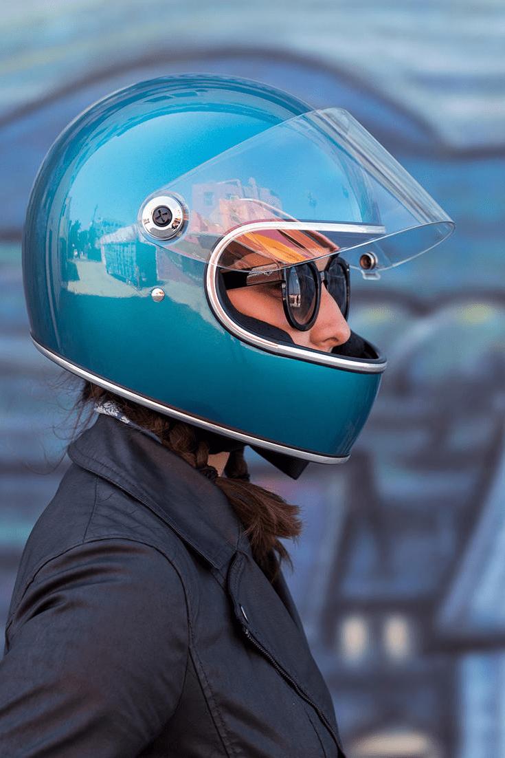 Casque Biltwell Gringo S ECE Helmet Gloss White
