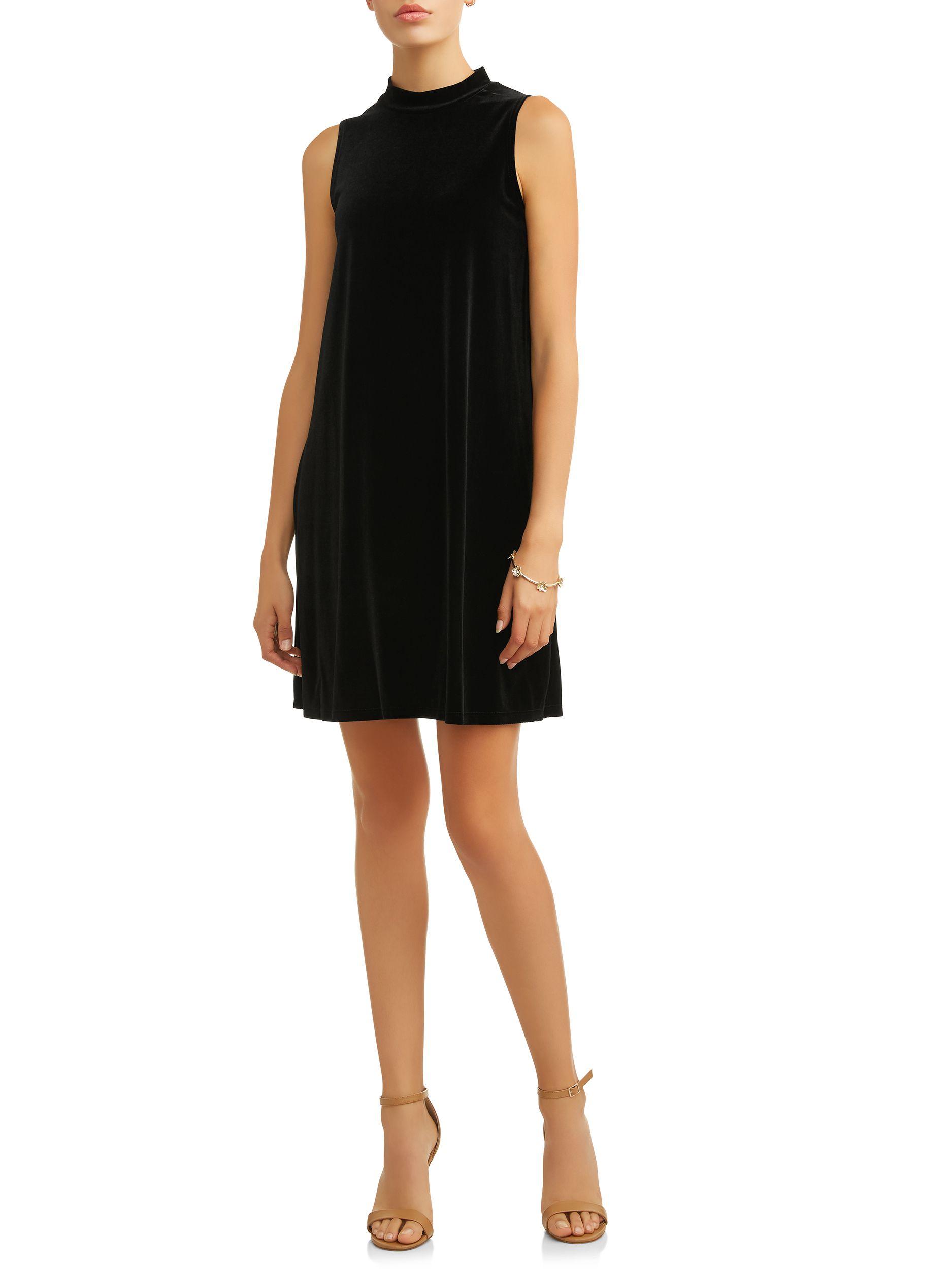 Mik Women S Sleeveless Velvet A Line Dress Walmart Com A Line Dress Dresses Velvet Shift Dress [ 2500 x 1875 Pixel ]