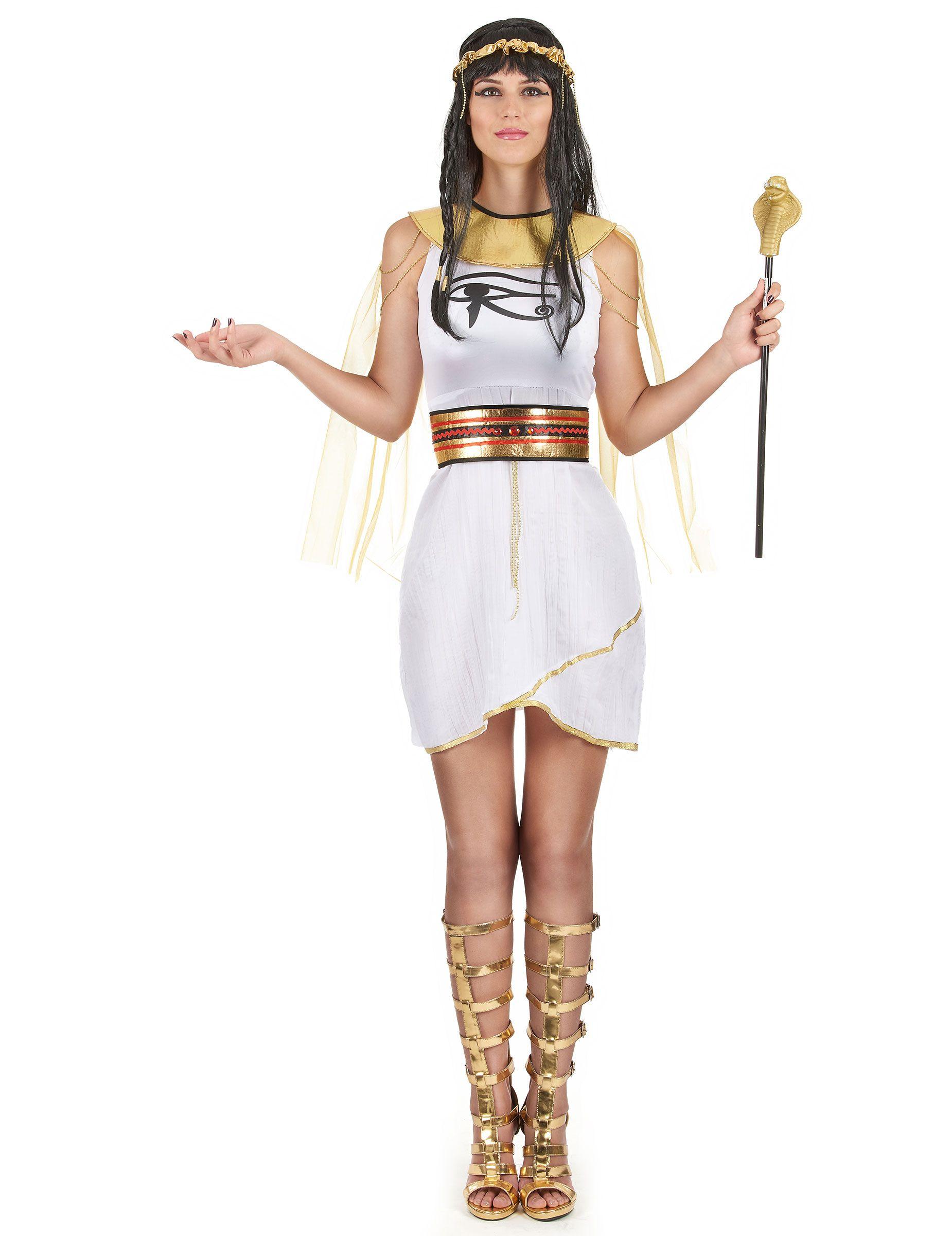542bce3da Disfraz egipcia mujer  Este disfraz de egipcia adulto incluye vestido