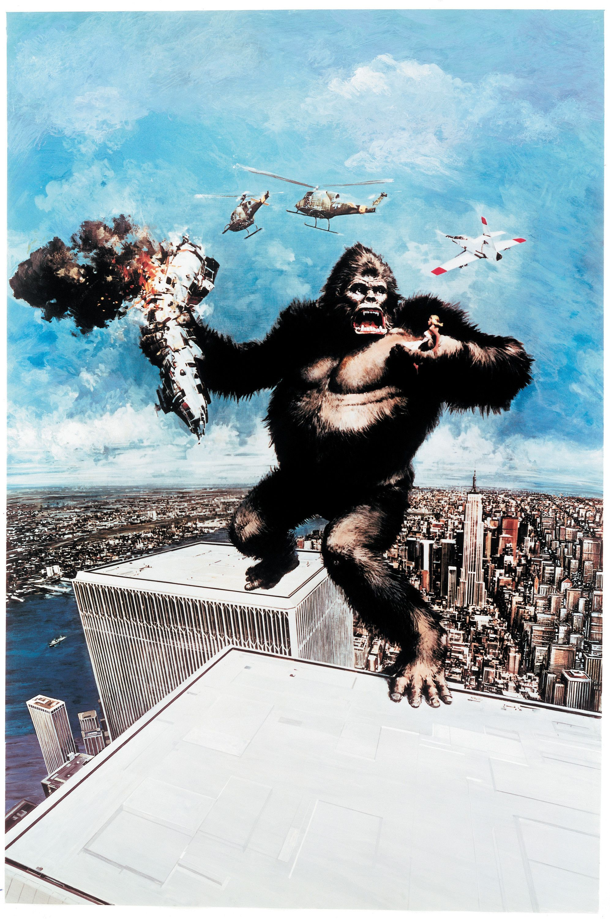 Image result for king kong 1976 poster